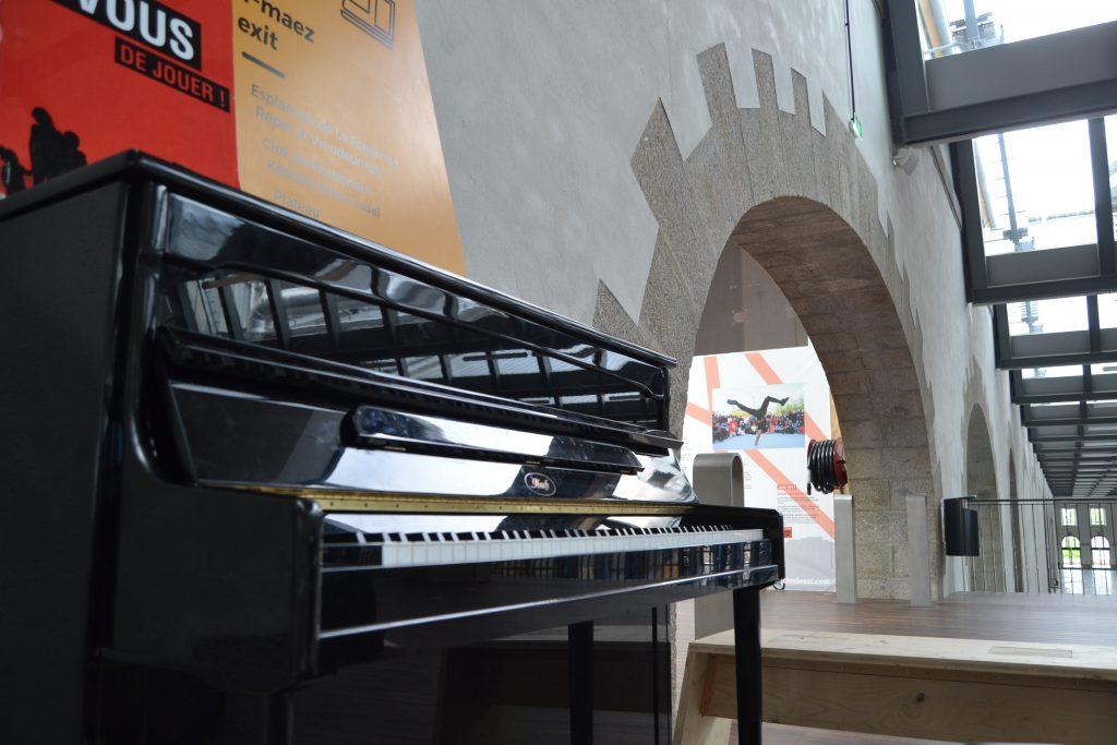 Photo du piano mis à disposition