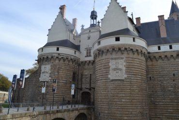 Photo de l'entrée du Château des Ducs de Bretagne
