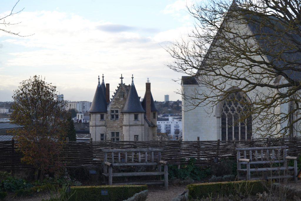 Photo du jardin botanique du château