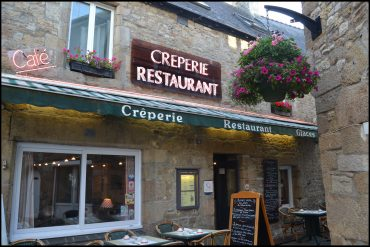 Photo de la devanture de la crêperie
