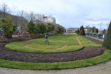 Photo d'une pelouse du Jardin du Mail