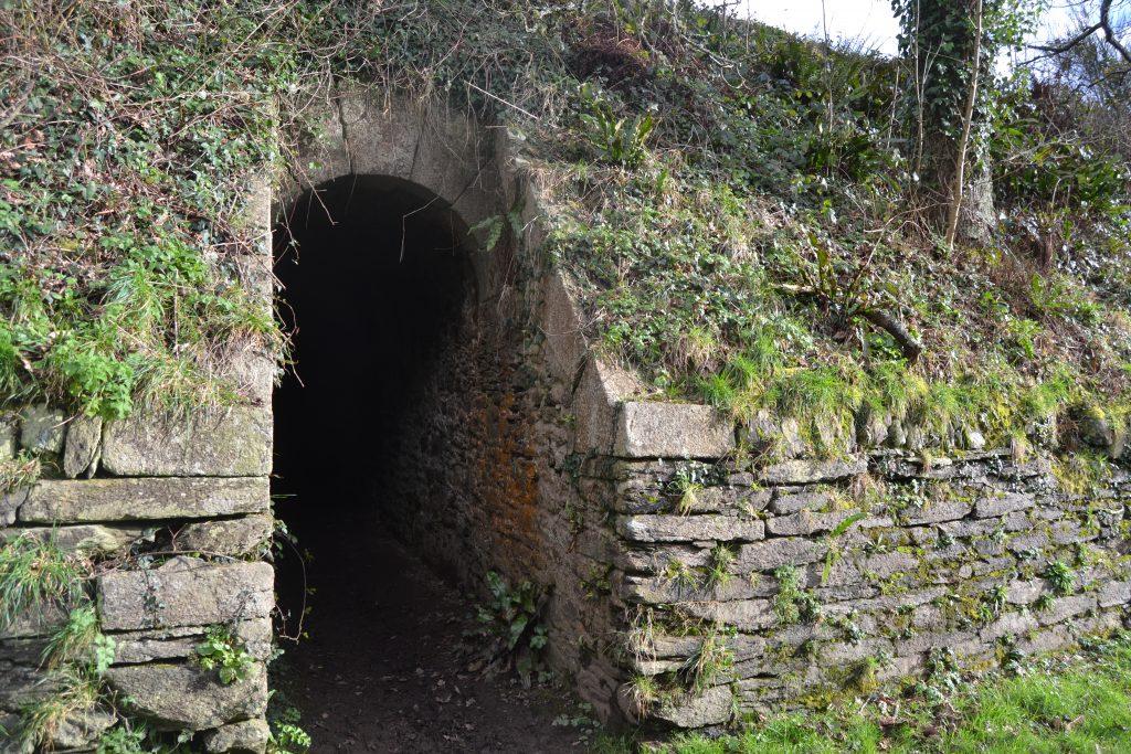 Photo d'une des entrée du fort
