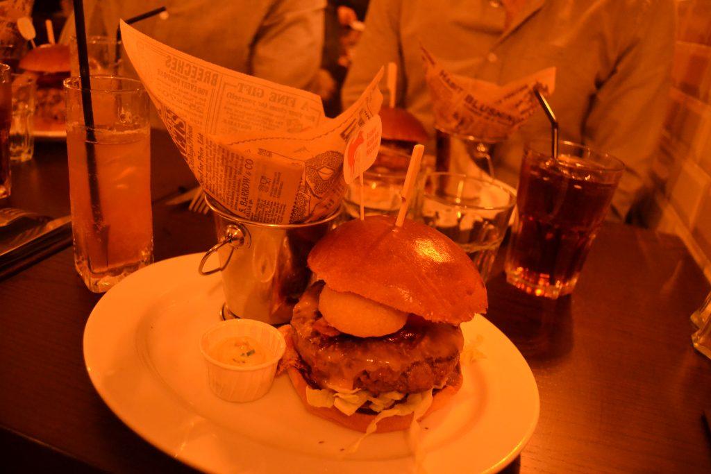 Photo d'un autre burger