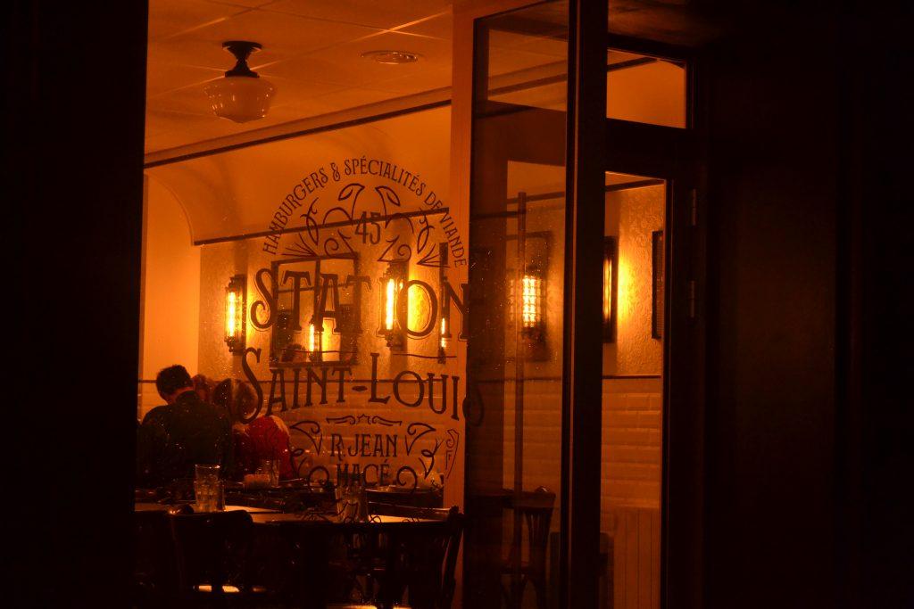 Photo du restaurant vu du dehors